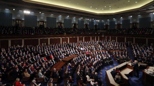 Ketua terpilih dewan perwakilan AS, Nancy Pelosi menyatakan tetap tidak akan meloloskan permintaan anggaran tembok perbatasan Presiden Donald Trump.