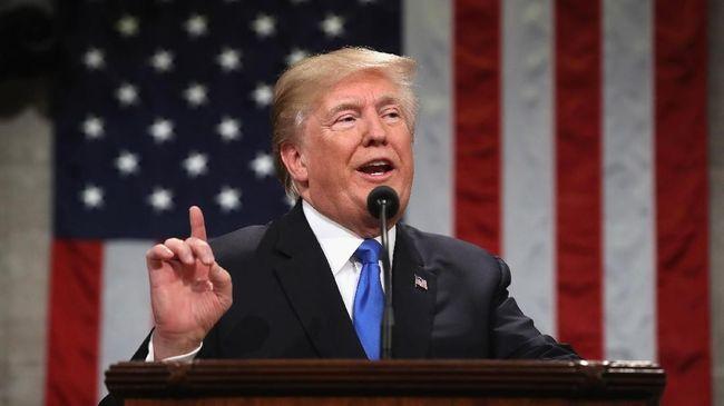Trump Perintahkan Pengerahan Militer ke Perbatasan Meksiko