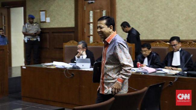 Setya Novanto akan menjalani sidang lanjutan perkara korupsi e-KTP di Pengadilan Tipikor, Jakarta, Senin (19/2).