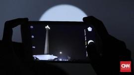 Tip Potret Gerhana Bulan Total Pakai Kamera Ponsel