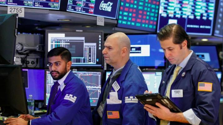 Aura Damai Dagang AS-China Masih Santer, Wall Street Menguat