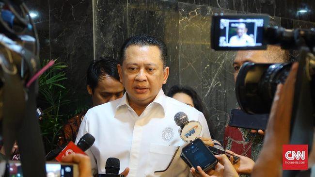 Ketua DPR Bambang Soeastyo menilai dengan e-Voting, potensi penyelewengan dana dari pengadaan kertas, tinta dan bilik suara bisa ditekan.