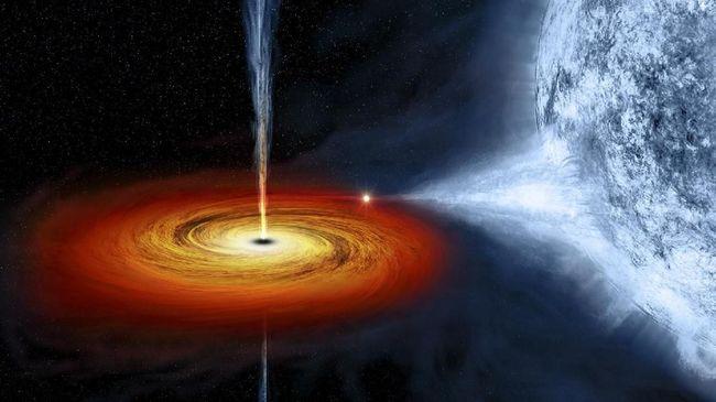 Peneliti menduga cincin yang bergerak disebabkan gangguan pada piringan akresi, atau lingkaran cahaya yang mengelilingi lubang hitam dengan putaran yang cepat.