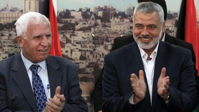 Dalam sebuah pemilihan internal, Ismail Haniyeh terpilih kembali untuk memimpin Hamas hingga empat tahun ke depan.