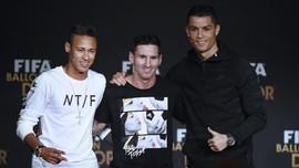 Tim Terbaik Eropa 2020: Messi, Ronaldo, Neymar Bersatu