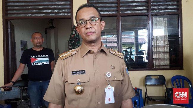 Anies: Tak Ada Urgensi Buka Jalan Jatibaru