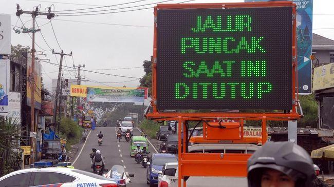 Cegah Longsor Susulan, Polisi Tutup Jalur Gunung Mas-Ciloto