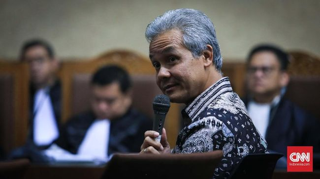 KPK Periksa Ganjar Pranowo Sehari Setelah Pilgub Jateng