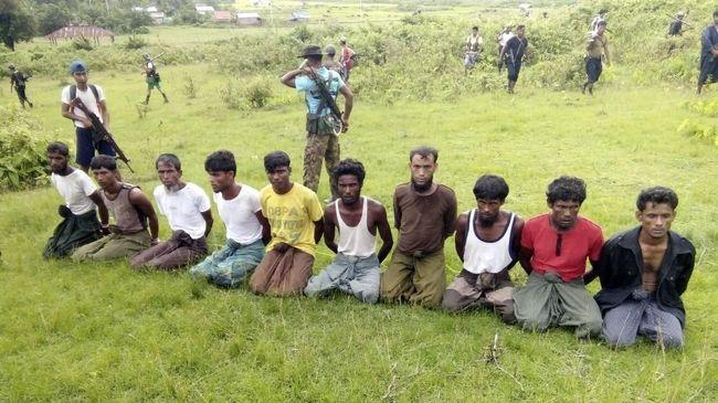 Bunuh 10 Rohingya, Tujuh Tentara Myanmar Dihukum Bui 10 Tahun
