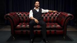 Bebas Menggerepe 'Tom Hardy' di Madame Tussauds London