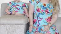 <p>Bunda yang hobi mengabadikan momen saat pakai baju kembaran bareng putrinya bernama Jessica Martins. Dia seorang blogger, Bun. (Foto: Instagram/jemartins22)</p>