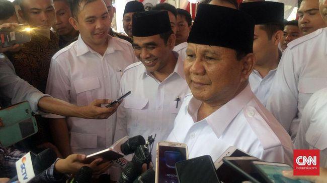 Prabowo meminta pemerintah segera mengambil tindakan untuk memulihkan dan menjamin keamanan bagi seluruh masyarakat, termasuk para pemuka agama.