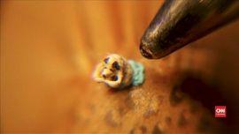 VIDEO: Patung Anjing Terkecil Sambut 'Tahun Anjing'