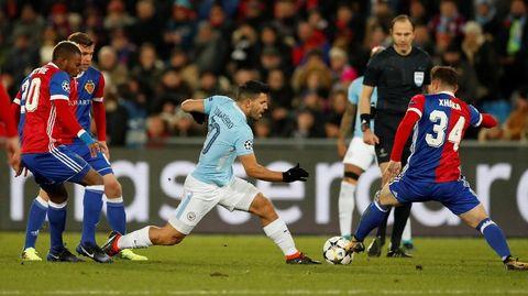 Babak Pertama, City Unggul 3-0 di Kandang Basel