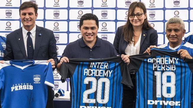 Menteri BUMN Erick Thohir menyampaikan ucapan selamat kepada klub sepak bola Inter Milan yang menjadi juara Liga Italia musim ini.