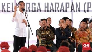 Jokowi 'Kumpulkan' 3.000 Burung di Kebun Raya Bogor