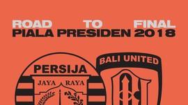 INFOGRAFIS: 'Road to Final' Piala Presiden 2018