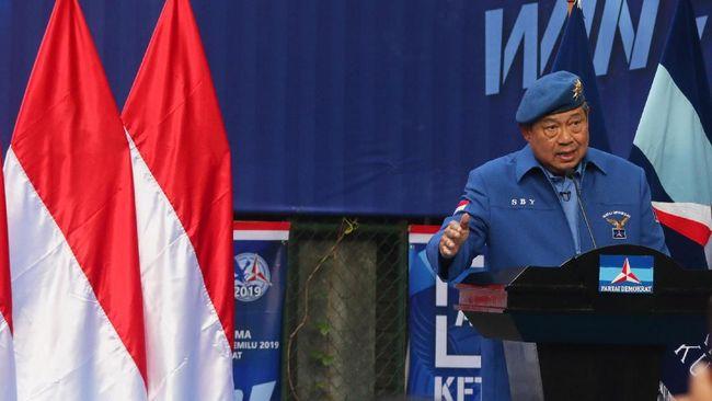 Gagal dengan JR Saragih, SBY menegaskan Partai Demokrat resmi mendukung pasangan Edi Rahmayadi-Musa Rajekshah di Pilgub Sumatera Utara 2018.