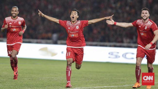 Laga Persija kontra Tampines Rovers yang berlangsung di Stadion Utama Gelora Bung Karno, Rabu (28/2) pukul 18.30 WIB, dapat disaksikan melalui live streaming