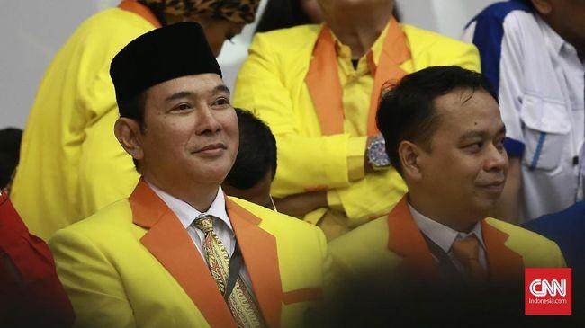 Ketua Dewan Pembina Partai Berkarya Tommy Soeharto mengkritik soal utang negara yang masih ada dalam pemerintahan Jokowi-JK senilai Rp4.700 triliun.