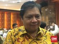 Malu-malu, Ical Ingin Jokowi Pilih Airlangga sebagai Cawapres
