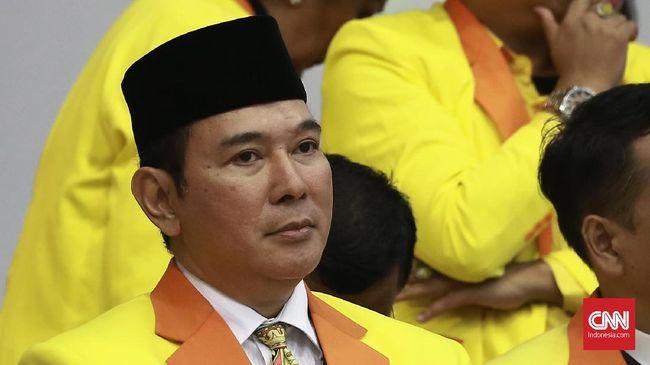 Tommy Soeharto yang juga Ketua Dewan Pembina Partai Berkarya menyebut dalam rapimnas ini fokus pada konsolidasi partai menghadapi pemilu 2019 mendatang.