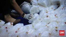 Polisi Ungkap Penyelundupan 31,6 Kg Sabu di Balik Kardus Mi