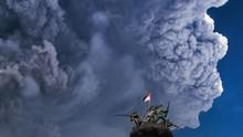Gunung Sinabung Erupsi Lagi, Tinggi Kolom Abu 4.200 Meter