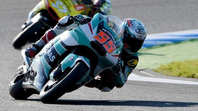 Pebalap Malaysia Hafizh Syahrin Cetak Sejarah di MotoGP Qatar