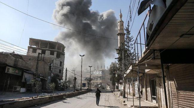 Pengeboman di Ghouta Timur Suriah