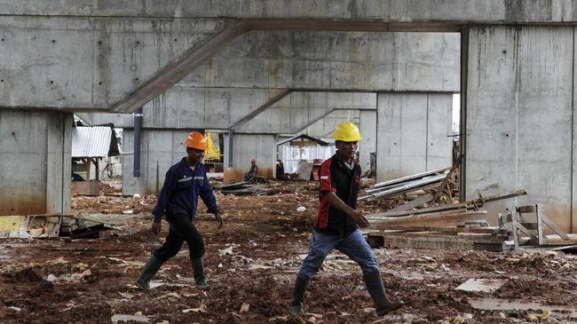 BPS menyebut daya beli buruh bangunan dan tani membaik, tercermin dari upah yang meningkat pada September 2018 sebesar 0,3 persen.