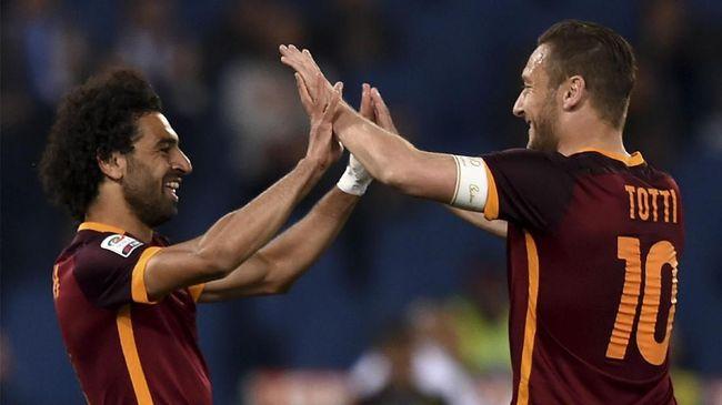 Legenda AS Roma dan Italia, Francesco Totti, mengomentari penyerang Mohamed Salah jelang Liverpool menghadapi Chelsea di Stadion Anfield.