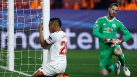 FOTO: Aksi Brilian David De Gea Selamatkan Manchester United