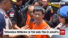 Tersangka Penyelundup 1,6 Ton Sabu Berteriak ke Petugas