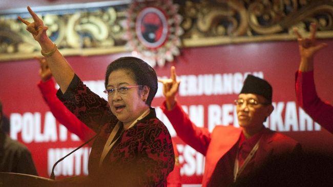 PDIP menargetkan kemenangan sebesar 50 persen dalam pilkada serentak 2018 yang digelar di 171 wilayah. Megawati meminta kadernya terus bekerja tanpa istirahat.