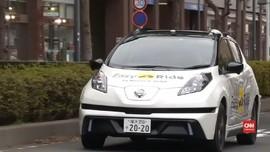 VIDEO: Salip Uber, Nissan Siapkan Taksi Otonom