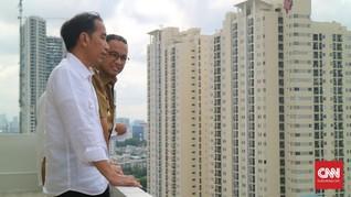 Cerita Jokowi-Anies Duduk Semobil Cek Rute Asian Games