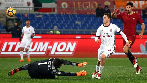 AC Milan Bungkam AS Roma