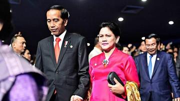 Kisah Cinta Jokowi dan Iriana, dari Balik Pintu Turun ke Hati
