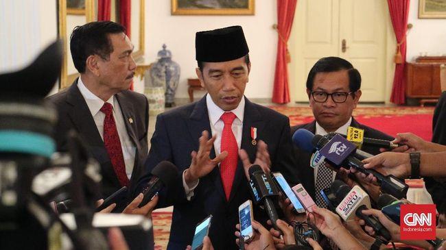 Presiden Joko mempertanyakan anggaran penelitian seluruh Kementerian dan Lembaga yang mencapai Rp24,9 triliun.