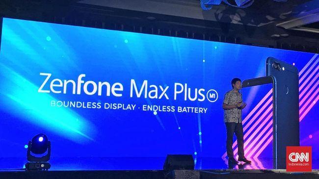 Asus menggunakan cipset Mediatek dalam ponsel anyarnya ZenFone Max Plus M1. Ponsel ini mengusung layar sebesar 5,7 inci dengan bezel tipis.