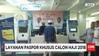 Kantor Imigrasi Buka Pelayanan Paspor Khusus Calon Haji