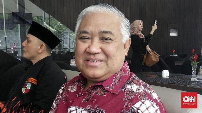 Ketua Dewan Pertimbangan MUI Din Syamsuddin tak menghadiri Munas MUI dan memilih berharap organisasi para ulama itu jadi mitra kritis pemerintah.