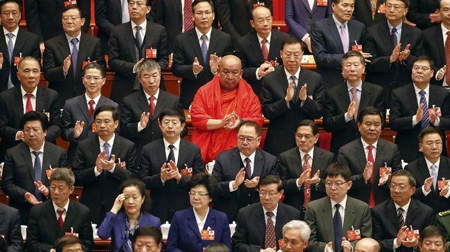 China mengisyaratkan akan bersikap tegas untuk meredam perlawanan di Taiwan dan Hong Kong dalam Kongres Parlemen Tahunan di Beijing.