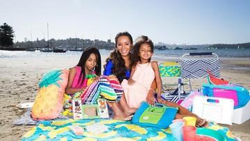 Mesranya Mel B Spice Girls dengan Ketiga Putrinya