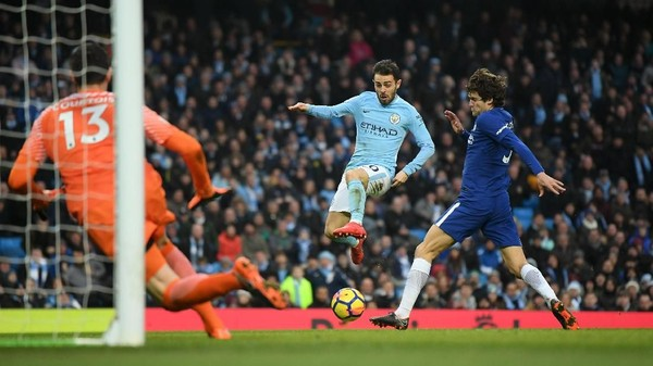 Man City Kalahkan Chelsea
