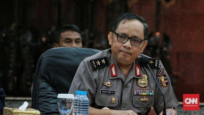Kepala Polda Metro Jaya Irjen Gatot Eddy Purnomo meminta massa penolak hasil Pemilu 2019 mengikuti imbauan Prabowo Subianto agar menyudahi aksi turun ke jalan.
