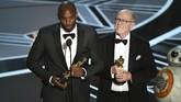 Sejumlah atlet papan atas dunia menghadiri penghargaan Oscar 2018. Bahkan legenda basket NBA Kobe Bryant mendapat trofi Oscar.