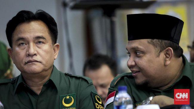 PBB menyebut caleg yang mendukung Prabowo-Sandi di pilpres adalah caleg nonkader. Sementara mayoritas kader PBB disebut sudah siap mendukung Jokowi-Ma'ruf.