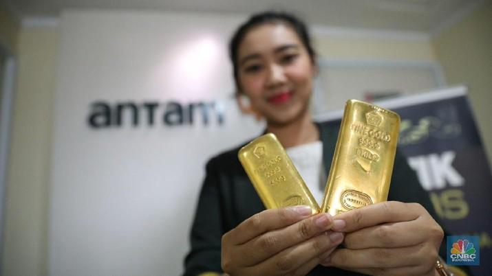 Emas Antam Kemarin Meroket, Hari Ini Ambles Rp 17.000/gram - PT Rifan Financindo